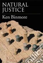 Natural Justice libro in lingua di Binmore K. G.