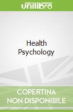 Health Psychology libro in lingua di Jane Ogden