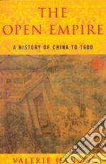 The Open Empire libro in lingua di Hansen Valerie