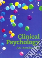 Clinical Psychology libro in lingua di Carr Alan