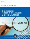 Serious Performance Consulting According to Rummler libro str