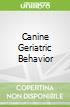 Canine Geriatric Behavior