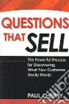 Questions That Sell libro str