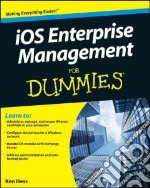 IOS Enterprise Management For Dummies libro in lingua di Hess Kenneth