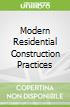 Modern Residential Construction Practices libro str