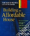 Building An Affordable House libro str