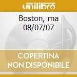 Boston, ma 08/07/07 cd musicale di Allman brothers band