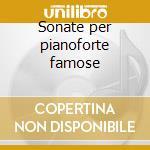Sonate per pianoforte famose cd musicale di Beethoven ludwig van