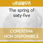 The spring of sixty-five cd musicale di Joseph spence & the