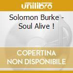 SOUL ALIVE (2CD) cd musicale di BURKE SOLOMON