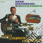 Deke Dickerson & The Ecco-Fonics - More Million $Eller cd musicale di Deke dickerson & the ecco-foni