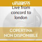 Live from concord to london cd musicale di Ernestine Anderson