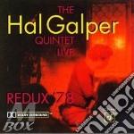 Redux '78 / quintet cd musicale di Hal Galper