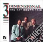 Trio / 3 dimensional cd musicale di Ray Brown