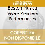Crawford Seeger Ruth / Musgrave Thea - Premiere Performances By Boston Musica Viva -2 Movimenti Per Orchestra Da Camera  - Boston Musica Viva  /jan Cu cd musicale