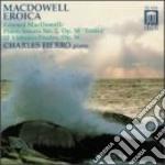 Edward Macdowell - Sonata Eroica In Sol Minore, 12 Studi Op cd musicale di Edward Macdowell