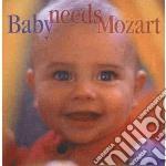 Mozart - Baby Needs Mozart cd musicale di Wolfgang Amadeus Mozart