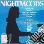 Nightmoods: Piano Recital - Composizioni Di Chopin, Faure', Granados cd musicale