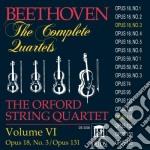 Beethoven Ludwig Van - Integrale Del Quartetti Per Archi Vol.6: cd musicale di Beethoven ludwig van