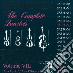 Beethoven Ludwig Van - Integrale Dei Quartetti Per Archi Vol.8: cd musicale di Beethoven ludwig van