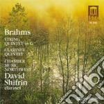 Johannes Brahms - Quintetto Per Archi N.2 Op.111, Quintett cd musicale di Johannes Brahms