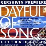 George Gershwin - Dayful Of Song cd musicale di George Gershwin