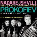 Sergei Prokofiev - Quartetto Per Archi N.1 Op.50 cd musicale di Sergei Prokofiev