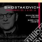 Sinfonie nn.6,10 cd musicale di Dmitri Sciostakovic