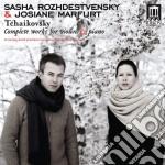 Ciaikovski - Opere Per Violino E Pianoforte: Serenata cd musicale di Ciaikovski pyotr il