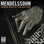 Felix Mendelssohn - Integrale Della Musica Per Violoncello E cd musicale di Felix Mendelssohn