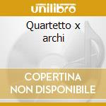 Quartetto x archi cd musicale di Giuseppe Verdi