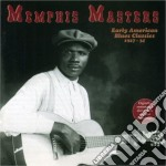 Memphis Masters - Early American Blues Cl. cd musicale di Masters Memphis
