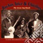 Ruckus Juice & Chittlins - The Great Jug Bands Vol.1 cd musicale di Ruckus juice & chittlins