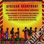 Essential african music - cd musicale di African heartbeat (4 cd)