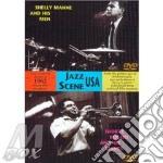 1962 jazz usa scene (dvd) - rogers shorty manne shelly cd musicale di Shelly manne + shorty rogers