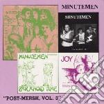 VOL.3 POST MERSH cd musicale di MINUTEMEN
