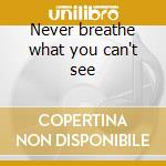 Never breathe what you can't see cd musicale