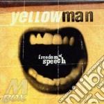 Freedom of speach - yellowman cd musicale di Yellowman