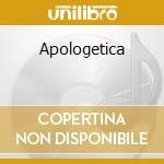 Apologetica cd musicale di Daniel Lentz