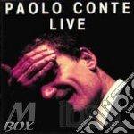 PAOLO CONTE LIVE cd musicale di Paolo Conte