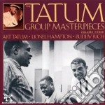 Tatum Group Masterpieces Vol. 3 cd musicale di Tatum/hampton