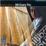 Bill Evans - Explorations cd musicale di EVANS BILL TRIO