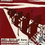 Miles Davis - Miles Davis And Horns cd musicale di Miles Davis
