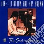 Duke Ellington - This One's For Blanton cd musicale di Duke Ellington