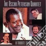 Oscar Peterson - A Tribute To My Friends cd musicale di Oscar Peterson