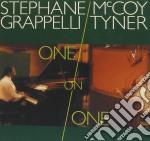 Stephane Grappelli / McCoy Tyner - One On One cd musicale di GRAPPELLI STEPHANE-MCCOY TYNER