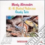 Threesome cd musicale di M.alexander/pedersen