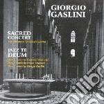 Giorgio Gaslini - Sacred Concert cd musicale di Giorgio Gaslini
