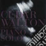 Cedar Walton Piano Solo - Blues For Myself cd musicale di Cedar walton piano solo