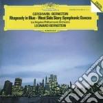 Gershwin - Rhapsody In Blue / Bernstein - Symphonic Dances cd musicale di GERSHWIN